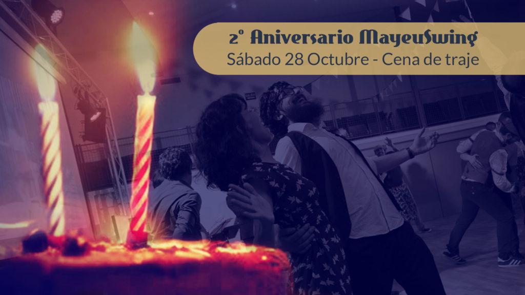2º Aniversario - Cena de Traje @ mayeuswing   Vigo   Galicia   España