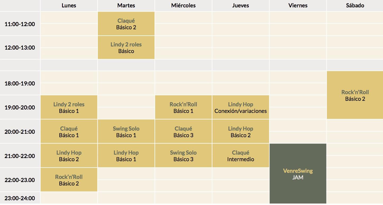 horario 3ºtweb