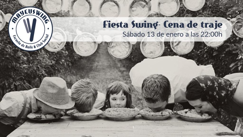 Fiesta Swing Cena de Traje