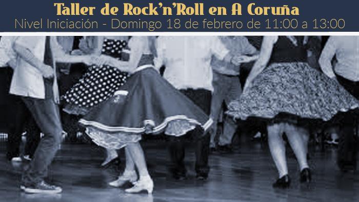 Taller de Rock'n'Roll en A Coruña @ La Olímpica | A Coruña | Galicia | España